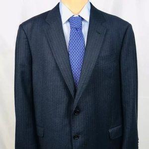Armani Collezioni Wool Navy Blazer 48R EUC
